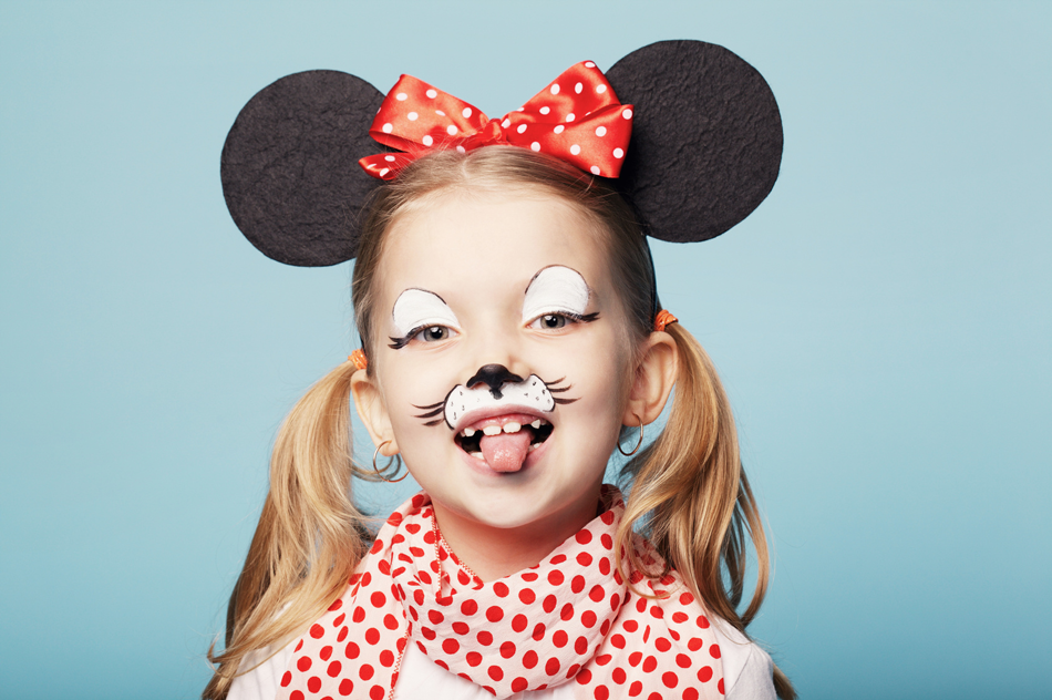 Minnie Mouse Face Makeup - Mugeek Vidalondon